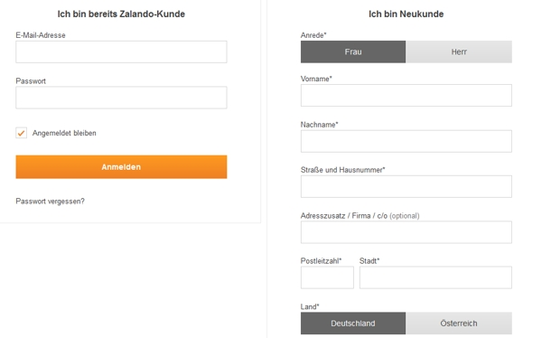 so funktioniert der kauf auf rechnung bei zalando. Black Bedroom Furniture Sets. Home Design Ideas