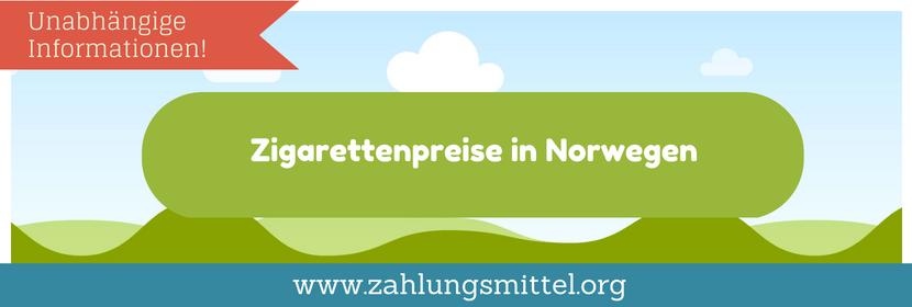 Kosten für Zigaretten und Tabak in Norwegen